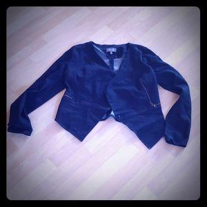Charlotte Russe Denim Blazer Jacket